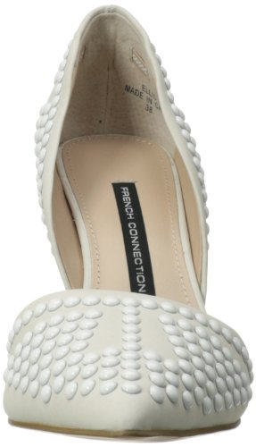 French Connection Ellis Cuir Talons Winter White