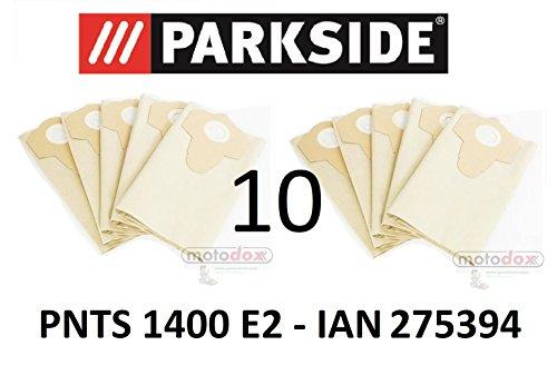 10 Parkside Staubsaugerbeutel 30 L PNTS 1400 E2 Lidl IAN 275394 braun 906-02 - Parkside Nass Trocken Sauger