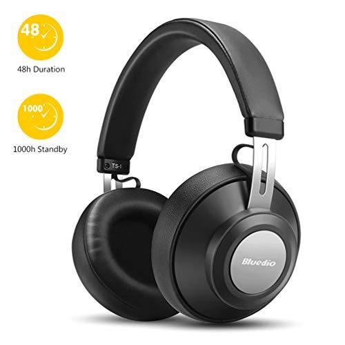 Casque Bluetooth sans Fil Jusqu'à 40 Heures, Casque Stéréo sans Fil Hi-FI, Casque Bluetooth 5.0 pour Le Sport, Compatible avec Tous Les appareils iOS et Android, Noir