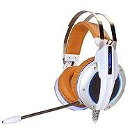 Gaming Headset Compatible con PS4 Xbox XIBERIA X11 3.5 Auriculares para auriculares Over-Ear para PC, Juegos, Música