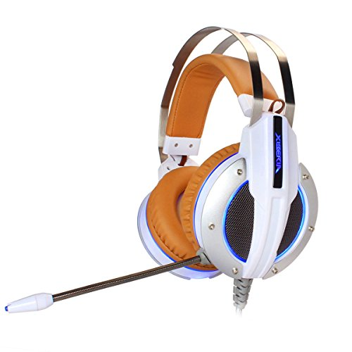 Gaming Headset Compatible con PS4 Xbox XIBERIA X11 3.5 Auriculares para auriculares Over-Ear para PC, Juegos, Música