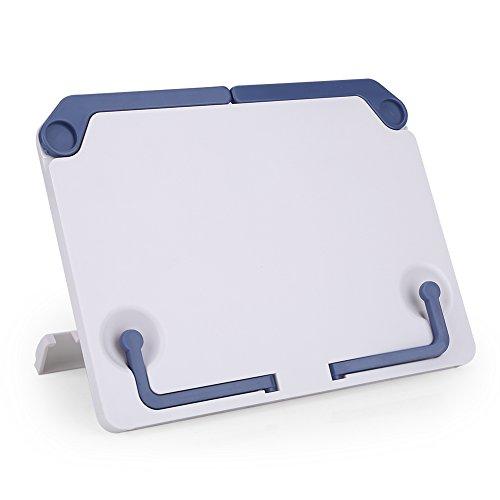 chständer Faltbar Tragbar Tischplattenbuch-Halter für Notenblätter Buch Pad Smartphones ()
