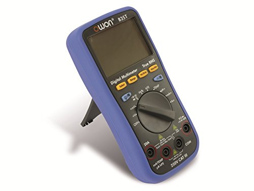 OWON B35T Digitalmultimeter mit Temperaturmessgerät, Bluetooth-Schnittstelle, Blau