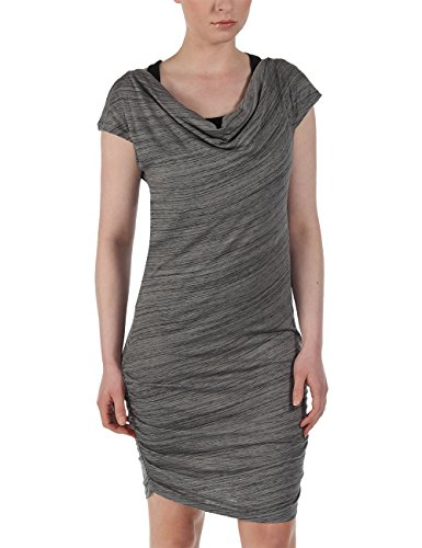 Bench Damen Kleid Jerseykleid AVOKRACER grau (Neutral Grey) Large