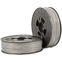 ABS 1,75mm silver ca. RAL 9006 0,75kg - 3D Filament Supplies