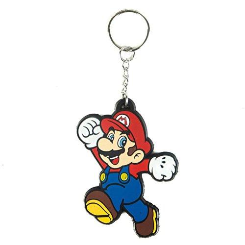 Bioworld Nintendo - Mario Rubber Schlüsselanhänger