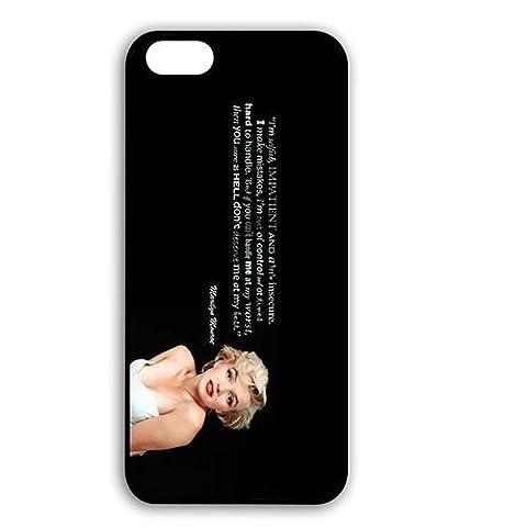 Huge Marilyn Monroe Fans Pattern for hülle iphone 7 4.7 Zoll Durable Cell Phone PC Skin,Telefonkasten SchutzHülle