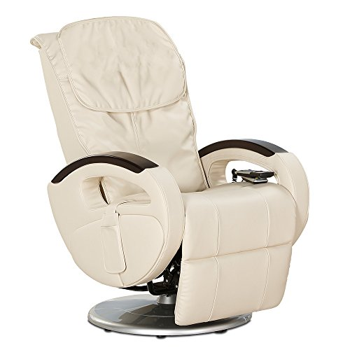 aktivshop Massagesessel »Dream Island«, Shiatsu-Massage, drehbar (Creme)