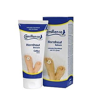Hornhaut Extra Balsam Camillen 60, Fußcreme mit Urea 15%, Kamille für trockene Füsse
