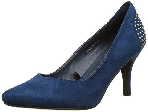 Initiale Damen Harrow Pumps, Bleu (Bleu), 38 EU