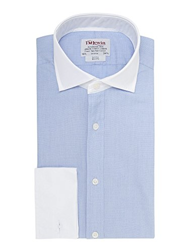 tmlewin-mens-slim-fit-blue-end-on-end-shirt-155