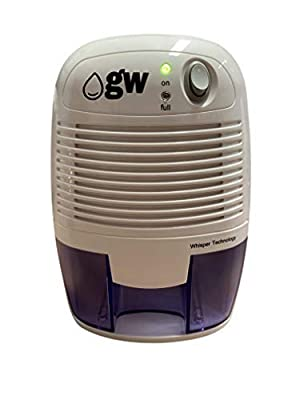 gw-Dehumidifiers - Compact Mini Dehumidifier 500ml (RRP. £39.99)
