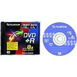 Fujifilm - DVD+R 4.7 Go 8x - boîtier CD - 46248-1PK