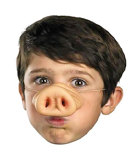 Inception Pro Infinite Schwein Nase - Maske - Zubehör - Tier - Schwein - Verkleidung - Halloween - Karneval - Kinder - Mann - Frau