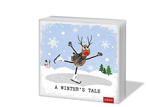 A winter's tale: Servietten