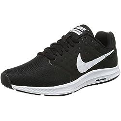 Nike Downshifter 7 W, Scarpe da Corsa Donna, Nero (Black/White), 38 EU