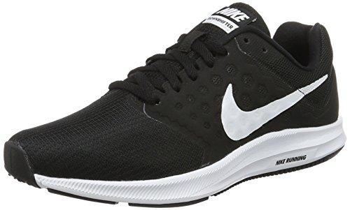 Nike Damen Downshifter 7 W Laufschuhe, Schwarz (Black/White-Anthracite), 39 EU (Nike Schuhe Frauen)
