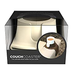 Idea Regalo - CouchCoaster - il portabicchiere ideale per il tuo divano, Panna