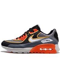 Zapatillas Nike W Air Max 90Ultra 2.0para mujer, color gris y negro ceniza, Large, Verde, Negro