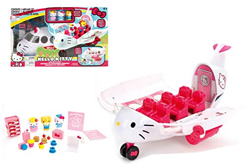 Simba- Hello Kitty-Payset Avion Playset, 253248000, Multicolor
