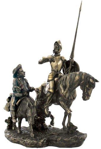 Don Quijote y Sancho Panza Estatua Escultura