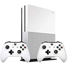 Microsoft Xbox One S 1TB Console (White) with Extra Controller - UAE Version