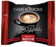 I0304 100 CAPSULE DON CARLO CAFFE' BORBONE MISCELA ROSSA compatibili A MODO MIO