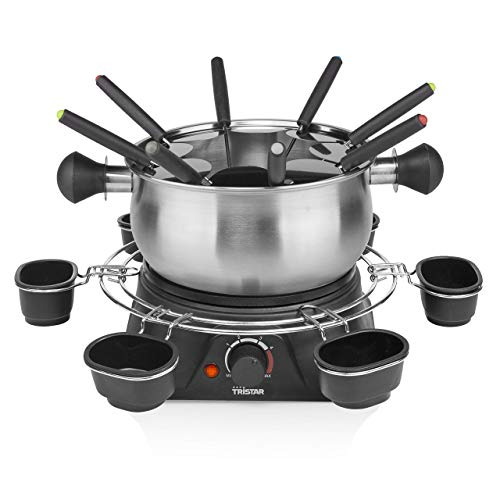 Tristar FO-1109 Family Fondue Set Acero Inoxidable