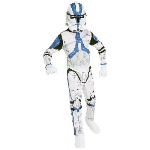 Clone Wars Star Kostüm - Kostüm Clone Trooper Star Wars 501st Legion für Kind