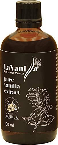 Vanille-Extrakt - Vanillearoma aus echten hochwertigen Vanilleschoten, ohne Zucker, ohne künstliche Zusätze, mit Alkohol, aus echter Vavaʻu Vanille, ökologischer und nachhaltiger Anbau -
