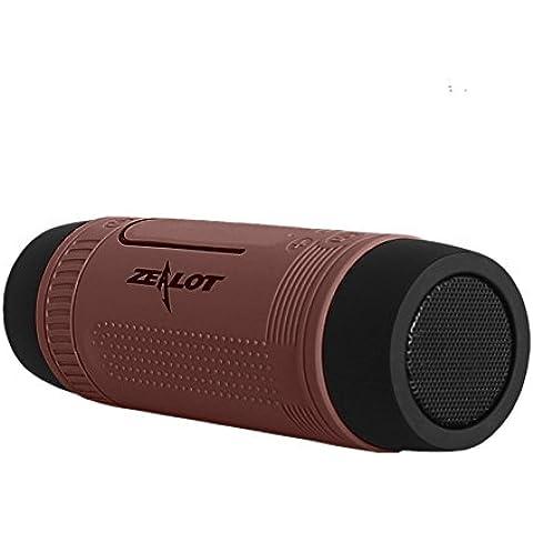 PYRUS ZEALOT esterno robusto-Altoparlante Wireless Bluetooth resistente all