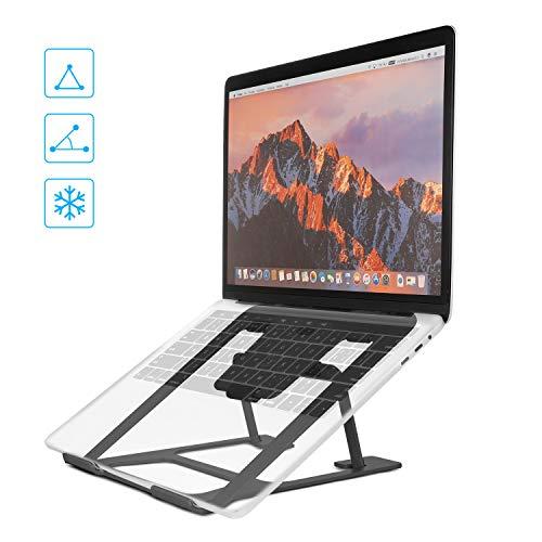 r, Laptop Stander Aluminium Universal Stander,Ergonomisch Tragbar Faltbar Tablet Ständer für 10-15 Zoll Tablet Notebooks Lenovo Thinkpad HP ()