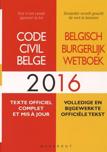 Code civil belge 2016