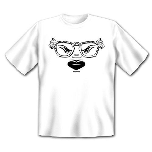 Cooles T-Shirt für Hundefreunde - Die Hundebrille - Ein lustiges Geschenk für alleTierfreunde!