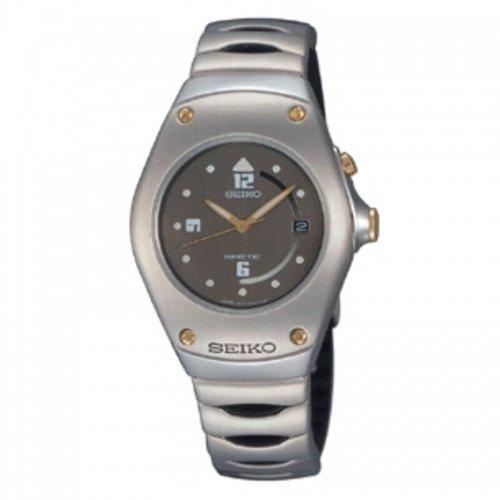 SEIKO SWP257P1 - Reloj de mujer de cuarzo, correa de acero inoxidable color plata