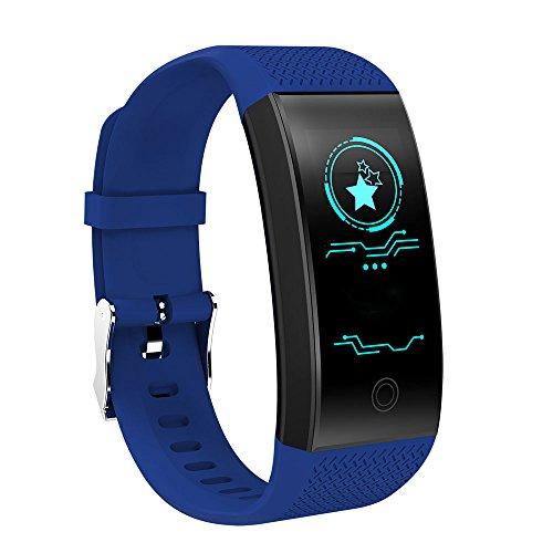 Sport Armband QW18 Smart Band Fitness Tracker Pulsmesser Armband Wasserdichte Farbanzeige Sport Armband für Android IOS