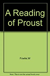 A Reading of Proust