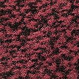 etm Schmutzfangmatte - Fußmatte für Haustür innen und außen - Rot-Schwarz, 60x90 cm