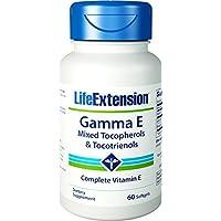Life Extension, Gamma E, Mixed Tocopherol/Tocotrienols, 60 Weichapseln