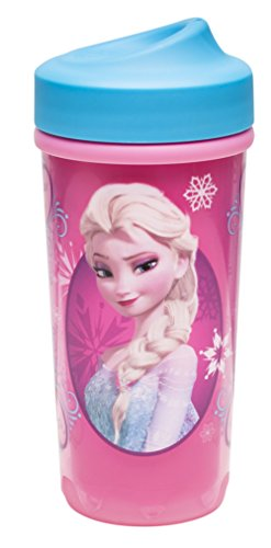 Zak Designs Toddlerific Perfect Flo Toddler Cup, Elsa and Anna from Frozen Anna Cup