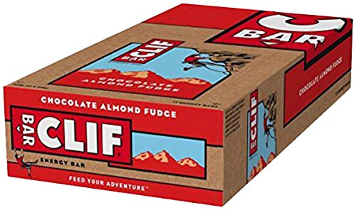 Clif Bar Energieriegel Chocolate Almond Fudge, 12er pack (12 x 68g) -