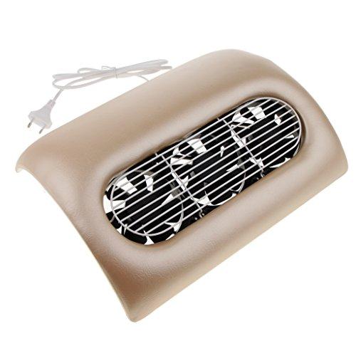 MagiDeal 15w Mini Ventilateur Séchoir à Ongles Aspirateur à Ongles pour Vernis à Ongle - Or