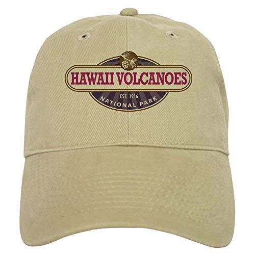 Asekngvo Hawaii Volcanoes National Park Baseball - Baseball Cap with Adjustable Closure, Unique Printed Baseball Hat 1