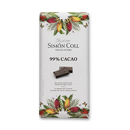 Tableta chocolate 99% cacao