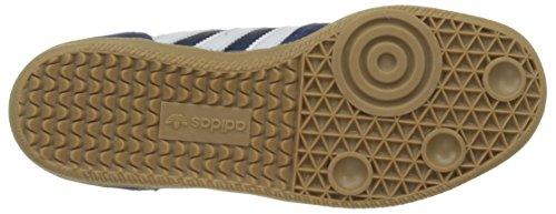 adidas Leonero, Scarpe da Skateboard Unisex – Adulto Blu (Mystery Blueftwr Whitegum)