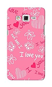 KnapCase I Love You Designer 3D Printed Case Cover For Samsung Galaxy Grand 2