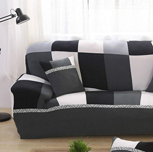 Chlove Housse de Coussin Imprimé Doux pour Sofa Voiture 45cmx45cm