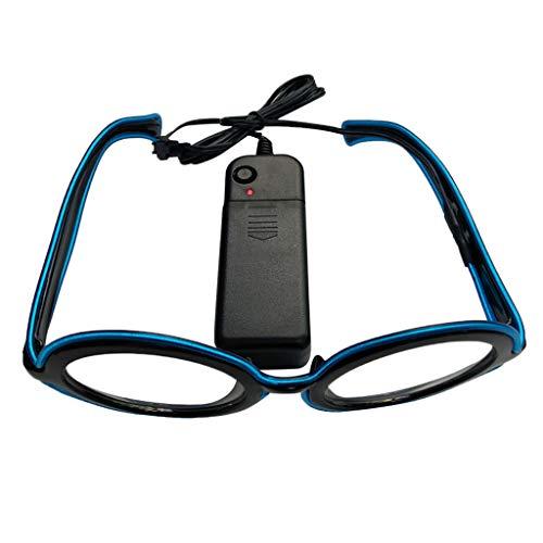 Felicove Club leuchten Gläser - Party leuchten Gläser - Brille hell - Blinkende Brill Battery Box...