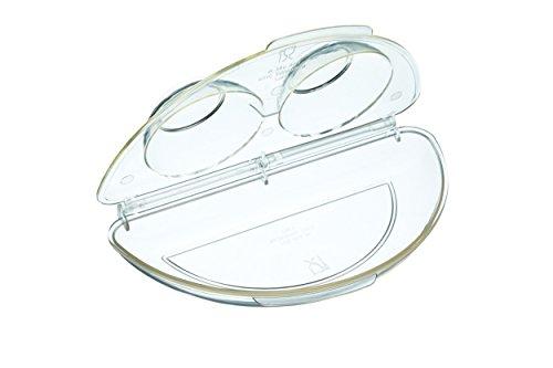 Kitchen Craft Mikrowellen-Eier-Porchierer und -Omelettemacher, transparent