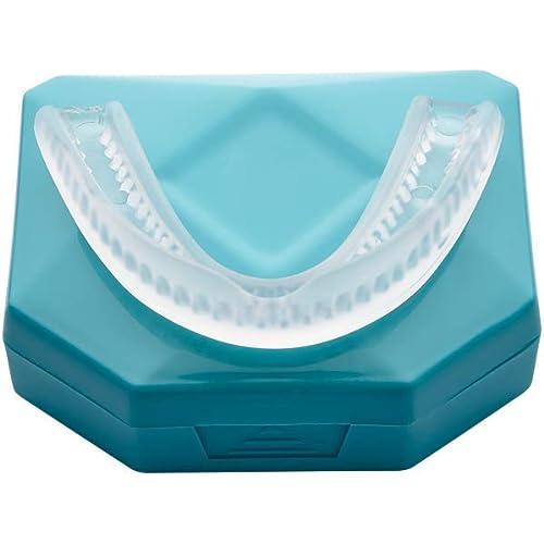 2 x Menthol Bite Dentale Notturno Automodellante. Apparecchio anti Bruxismo - anti Digrignamento dei denti e disturbi dell' ATM